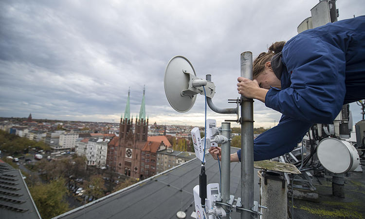 Freifunk, the German group that aims to provide free internet to all