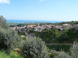The city of Riace, in Calabria, Italy