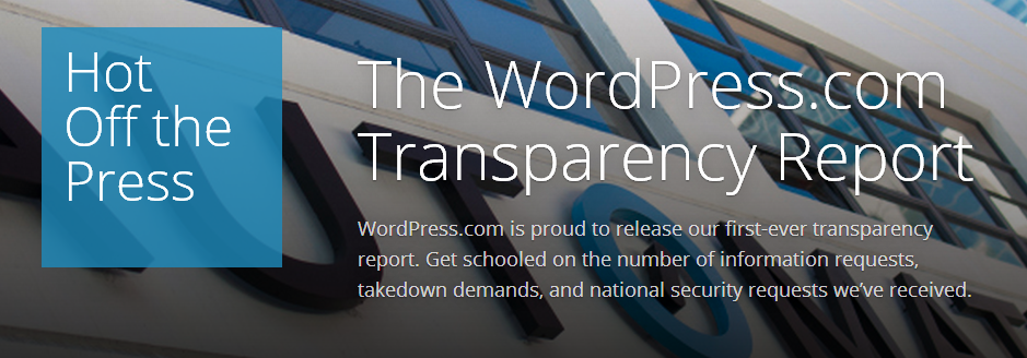 Wp transparency