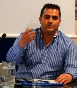 Alberto Manchado, coodinator, EBC Girona