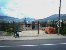 Internet access point in the countryside, along the road from Cotacachi to Quito