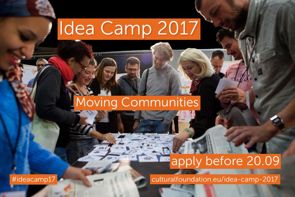 ECF IDEA CAMP 2017: Moving Communities